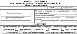 Заявление о постановке на учет арендуемых земельных участков