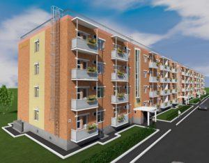 Здание в двумя квартирами стать многоквартирным жилым домом