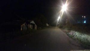 Порядок освещения улиц в сельской местности