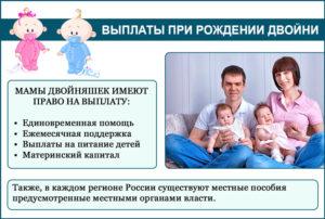 Выплаты при рождении двойни в 2020 году в рб