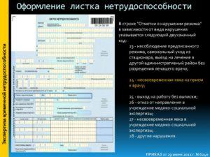 Наказание за нарушение сроков отправки больничных листов