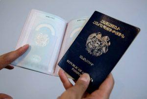 Зеленый паспорт у армян