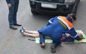 Нарушение правил дорожного движения повлекшее дтп