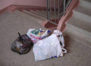 Ответственность за выкидывание мусора в подъезде дома
