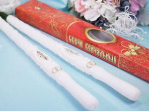 Венчальные свечи при разводе