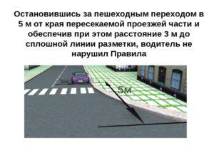 Парковка у пешеходного перехода за сколько