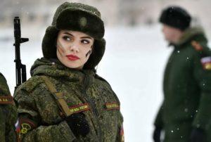 Женские войска в россии