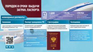Загранпаспорт 2020 делают месяц с момента подачи заявления или фотографирования