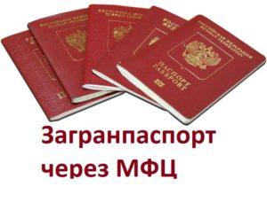 Можно ли заказать загранпаспорт в мфц ярославль