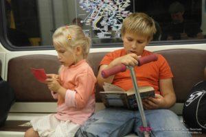 Метро бесплатно для детей до 7 лет