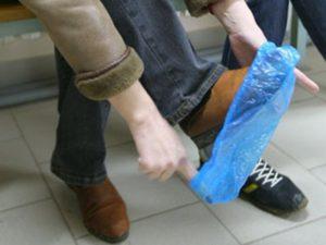 Платные бахилы запрещены в медучреждении