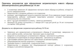 Овир одинцово список документов на загранпаспорт старого образца