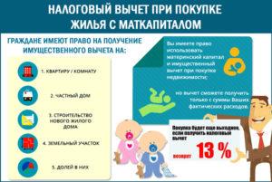 Возврат 13 процентов от покупки на материнский капитал