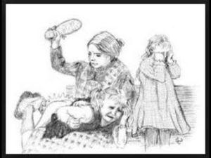 Как бьют розгами или ремнем читать рассказы про детей