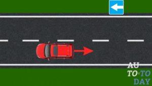 Можно ли при одностороннем движение двигаться задним ходом