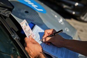 Наказание за вождение автомобиля с анулированной регистрацией