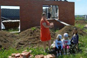 Можно ли продать участок полученный за третьего ребенка под строительство