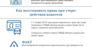 Утеря водительского удостоверения как восстановить украина