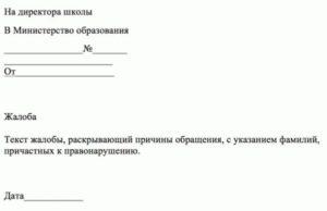 Как анонимно написать жалобу в министерство образования