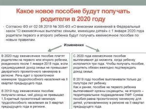 На сколько подняли детские до 18 лет в 2020 году