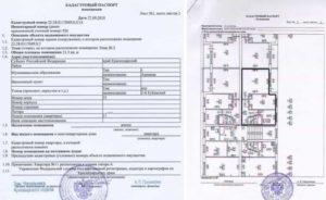 Кадастровый паспорт на объект строительства