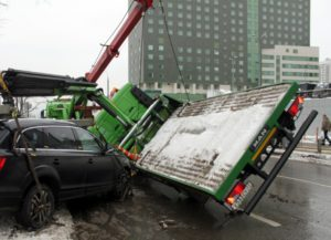 Забрали машину на эвакуаторе какие повреждения могут быть